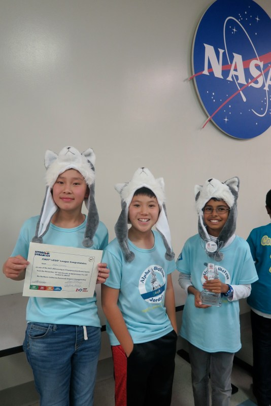 Middle school FLL teams do well in local event, one advances