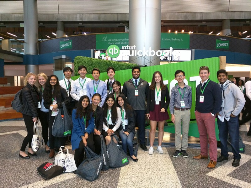 Students attend QuickBooks Connect 2017 to broaden career knowledge