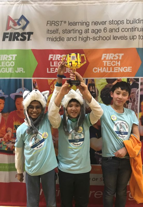 MS robotics team wins regional championship, now eligible for world-level events