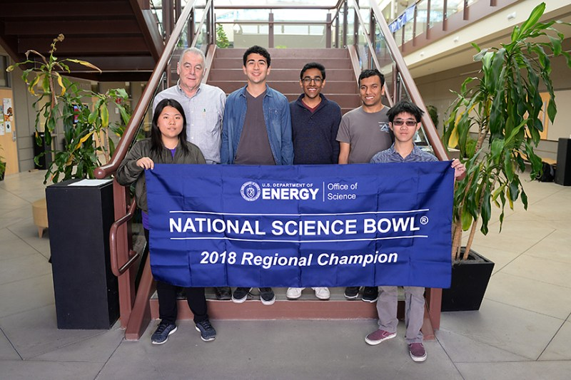 Upper school Science Bowl team qualifies for national finals two years in a row