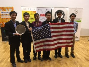 Senior wins gold medal at Romanian Master of Mathematics competition