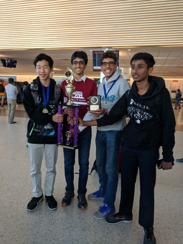 Students take top spots at Future Problem Solving State Bowl, grade 8 team bound for internationals
