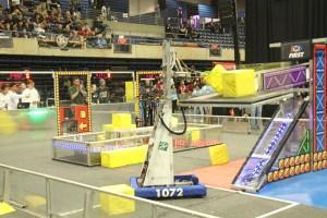 Upper school robotics travels to Houston for world championships
