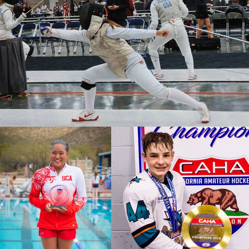 US and MS Kudos: Champions in synchronized swimming and hockey; fencers medal, compete well in many events