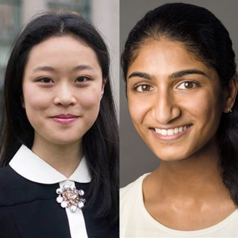 Two alumna named 2018 Paul & Daisy Soros Fellows, honoring immigrants and their children