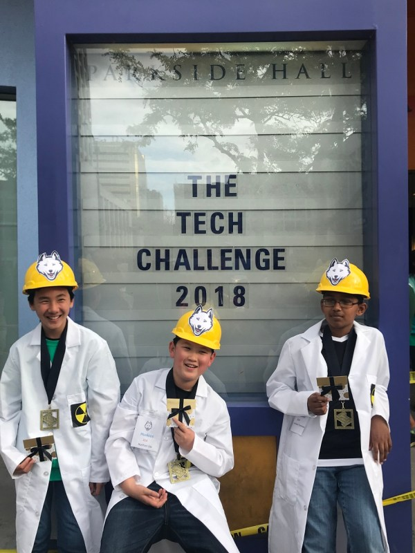 Harker teams earn recognition at 2018 Tech Challenge