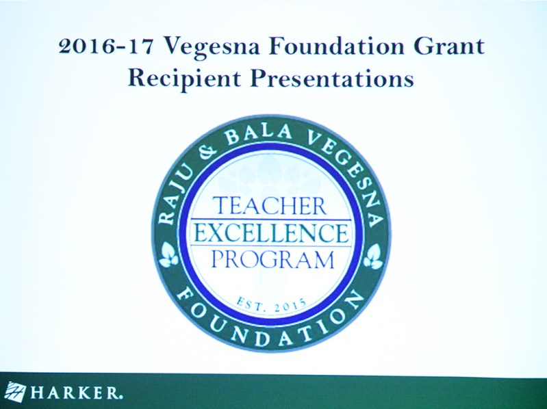 Vegesna teacher grant awardees plan range of activities to enhance classroom and skills