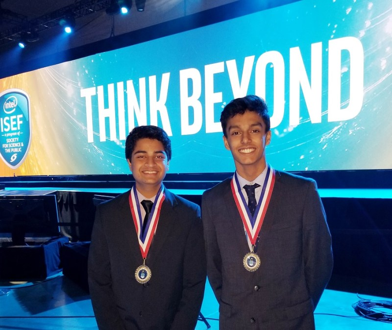 Three juniors pick up awards at Intel International Science and Engineering Fair
