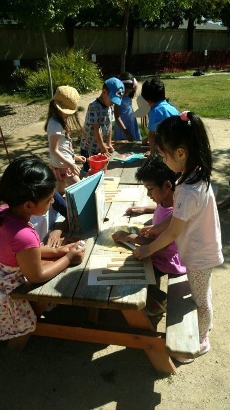 Preschoolers have big dig to find dinosaur bones