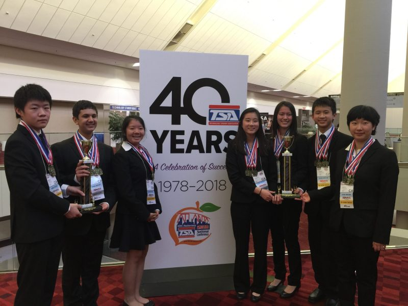Harker students win high honors at national TEAMS competition