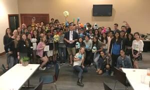 Upper school speech and debate team kicks off year with retreat