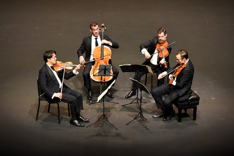Miró Quartet amazes in second Harker Concert Series appearance