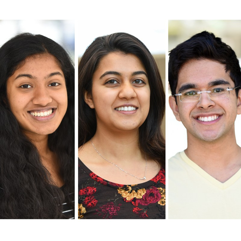 [UPDATED] Three seniors named Regeneron Science Talent Search finalists