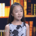 Kudos: Shayla He, grade 7, appears on Chinese talk show