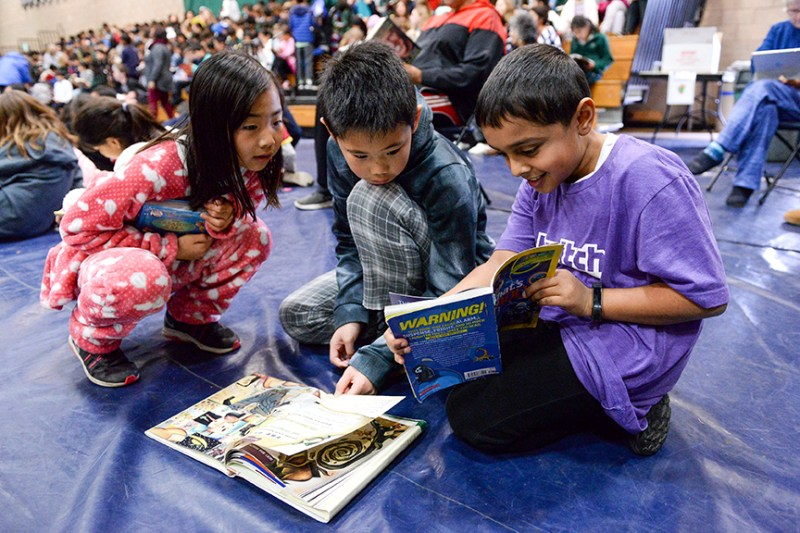 Assembly celebrates another successful pajama and book drive