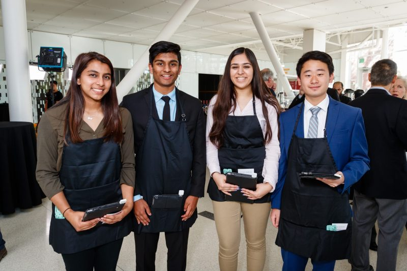 Student entrepreneurs join business group for roundtable at GROW Awards