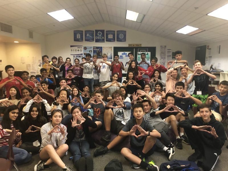 Harker DECA Launch 2019 brings interested freshmen into the fold