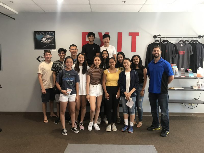 DECA officers gear up for new season with team bonding, fun activities at annual retreat