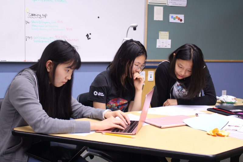Harker Programming Club hosts Girls Programming League Challenge