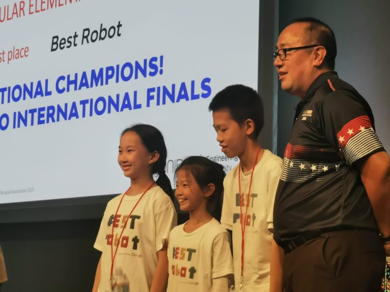 [UPDATED] Student's team wins World Robot Olympiad USA championship, invited to international finals in Hungary