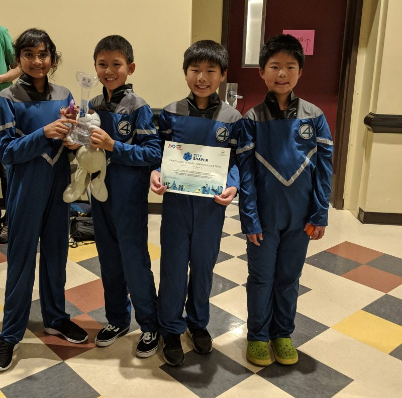 [UPDATED] Grade 5 robotics teams picks up awards at FLL qualifier