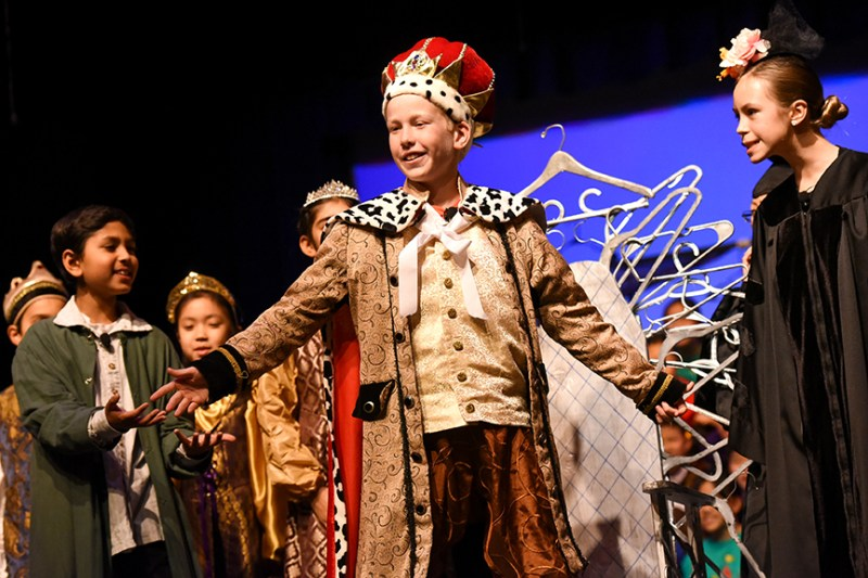 'The Emperor's New Clothes' gets a fun, musical retelling at grade 5 show