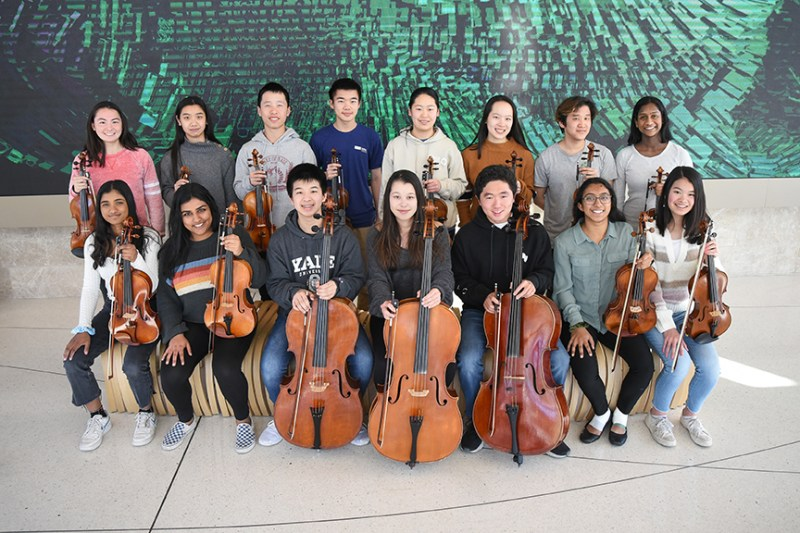 Orchestra students to participate in Kronos Quartet's 50 for the Future Program