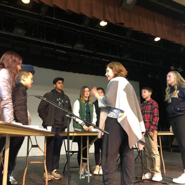 Eighth graders inform parents about their digital lives at Common Sense panel