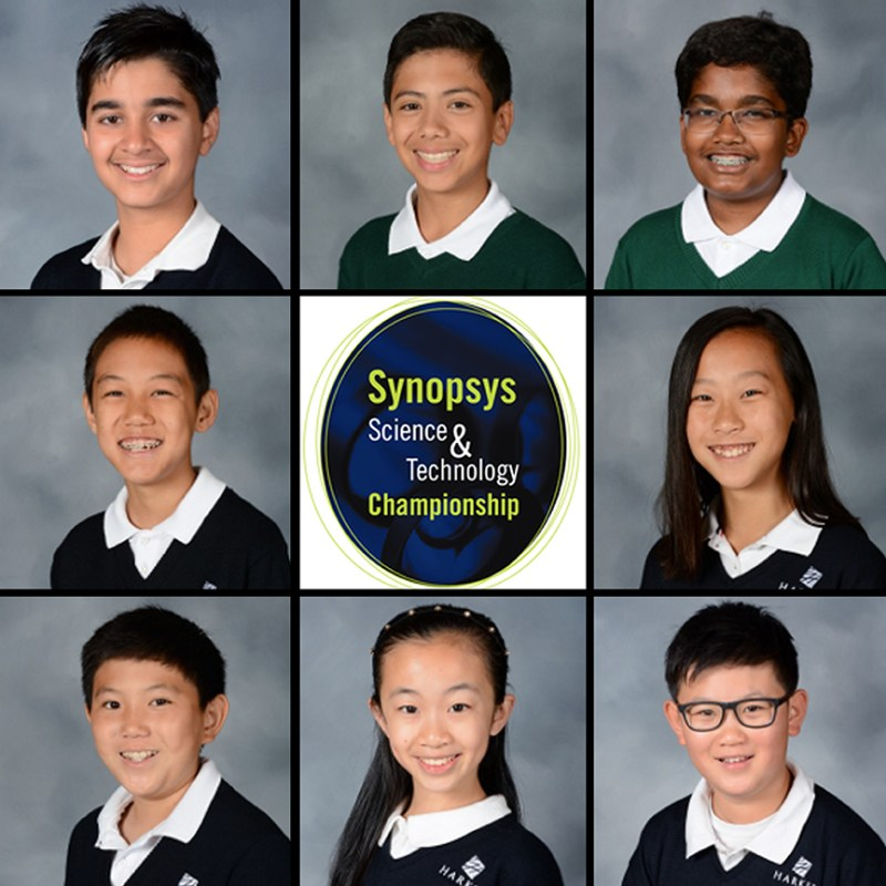 Middle and upper school students win big at 2020 Synopsys Championship