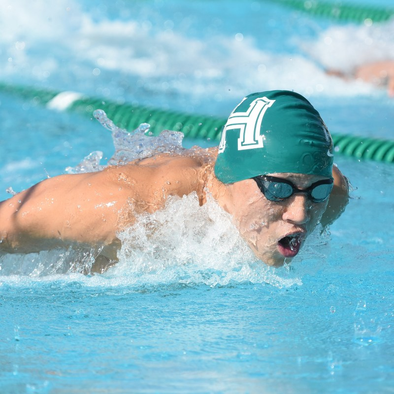 Hu named one of the top 10 NorCal boys swimmers of the last decade