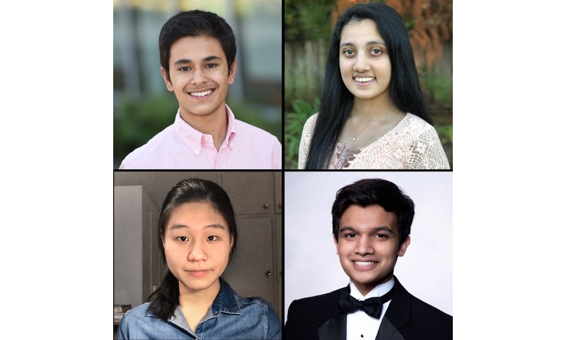 Four seniors named scholars in 2021 Regeneron Science Talent Search