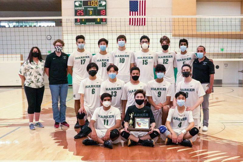 Boys volleyball wins second CCS championship, basketball advances to quarterfinals