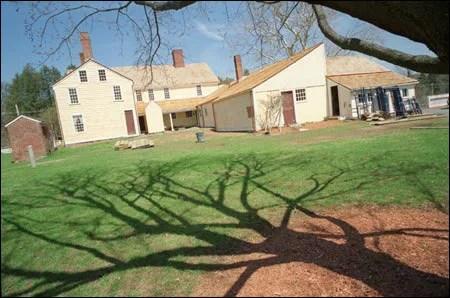The Ward homestead