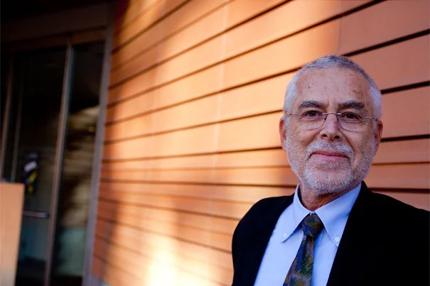 """Baskin Oran, spoke at Harvard on Oct. 19 offered a broad historical perspective on his native land in the first of a series of six lectures titled """"Western Impact and Turkey."""""""