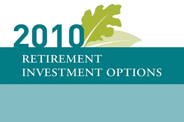 Best options for retirement investing