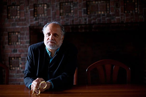 """Homi Bhabha (above), director of the Humanities Center at Harvard, says that the $10 million gift to the center by Anand Mahindra '77, M.B.A. '81, """"emphasizes the global reach of the humanities. The humanities are a global project."""""""