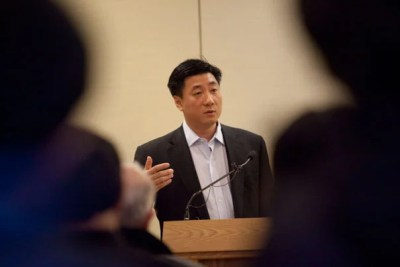 "At a Fairbank Center for Chinese Studies' lecture,  activist and publisher Bao Pu addresses the recent events surrounding the awarding of the 2010 Nobel Peace Prize to Communist Party critic Liu Xiaobo. The backlash against Liu, Bao said, is based on the ""myth"" that China is at ideological odds with the West. While China has embraced liberal economic reforms, the ruling Communist Party has not tolerated Liu's outspoken support for Western democratic values."