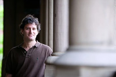 """""""His ultimate goal is nothing less than repositioning applied mathematics as a way of thinking and transforming the concentration into a quantitative liberal arts degree. He makes applied mathematics inviting, engaging, and, for lack of a better word, hip,"""" said SEAS Dean Cherry A. Murray of Ledlie Prize recipient Michael Brenner."""