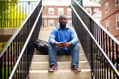 Senior Ablorde Ashigbi's work with Students Taking on Poverty and the African Development Initiative has helped to improve public health and business opportunities in Africa, and has given him and his classmates a chance to explore different approaches to education reform here in the United States.