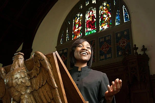 """At Harvard, I've been shaped by the narratives and traditions of students whose faith and background are different from my own, without compromising who I am and what I believe in,"" said Shauntae Smith, a graduating M.Div. student with a dual focus in pastoral care/counseling and preaching."