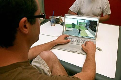 Exploring ideas through virtual park planning