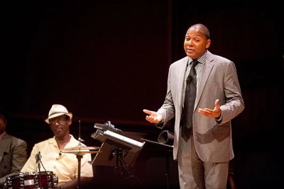 "Throughout the years, rapidly changing dances meant music had to change, too, said Wynton Marsalis, whose lecture, ""The Double Crossing of a Pair of Heels: The Dynamics of Social Dance and American Popular Musics,"" was the second in the two-year series, ""Hidden in Plain View: Meanings in American Music."""