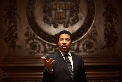 """I write about three corny words that will never go out of style: I love you,"" said Lionel Richie, who was presented with the Harvard Foundation's 2011 Peter J. Gomes Humanitarian Award for his contributions to breast cancer research and beyond."