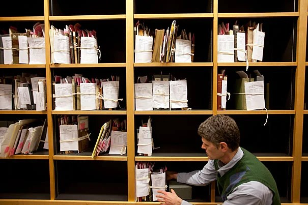 "Many items in general circulation at Widener would anywhere else only be found in special collections. Vulnerable items still in the stacks come to light because of alert library users. ""They're targeting the items we most want to find,"" said Todd Bachmann, associate head of imaging services at Widener."