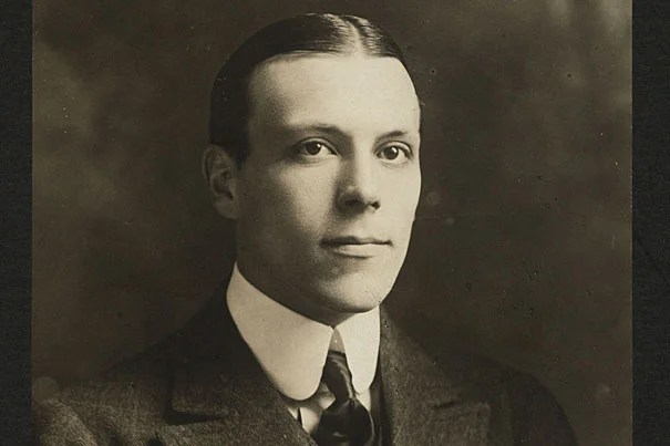 First-class Titanic passenger Harry Elkins Widener, a 27-year-old Philadelphia businessman and book collector who had graduated from Harvard College in 1907, perished in the boat's sinking along with his father, George D. Widener. His mother, Eleanor Elkins Widener, survived, floating to safety aboard lifeboat No. 4. Not long after the Titanic went down, the Harry Elkins Widener Memorial Library went up at Harvard, thanks to a $2 million donation from his grieving mother.