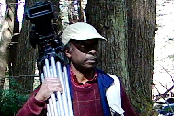 "Roberto Mighty's exhibit, ""First Contact,"" opens Sept. 23 with a one-time film screening and an artist presentation. The exhibit is the culmination of Mighty's yearlong artist residency at the Harvard Forest. The exhibit continues through October."