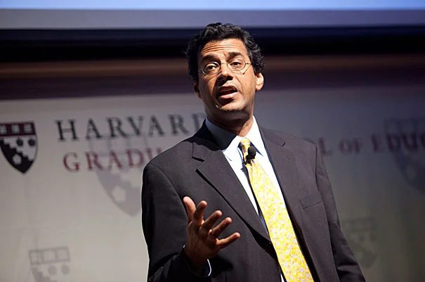 """Atul Gawande's Askwith Forum talk covered observations from sports and music, as well as anecdotes from his career — including his experience working with a surgical coach. In addition to suggesting some technical changes (like changing the position of his elbow), the coach also """"pointed out the ways I'd missed opportunities to help the team perform better,"""" Gawande said. After making changes and re-focusing on small details, """"I saw my complication rates go down."""""""