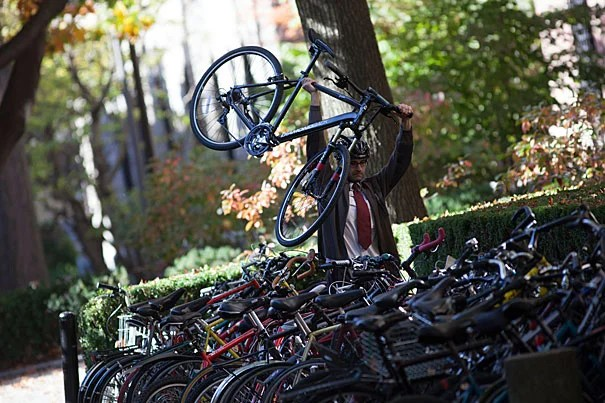 The national advocacy organization League of American Bicyclists has named Harvard a silver-level Bicycle Friendly University. Harvard is the highest-ranked Bicycle Friendly University in New England and the Ivy League.