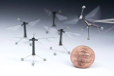 Inspired by the biology of a fly, with submillimeter-scale anatomy and two wafer-thin wings that flap almost invisibly, 120 times per second, the tiny device not only represents the absolute cutting edge of micromanufacturing and control systems, but is an aspiration that has impelled innovation in these fields by dozens of researchers across Harvard for years.