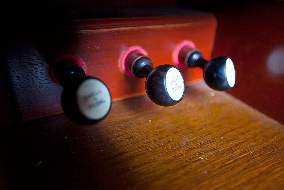 The Emerson Chapel organ.